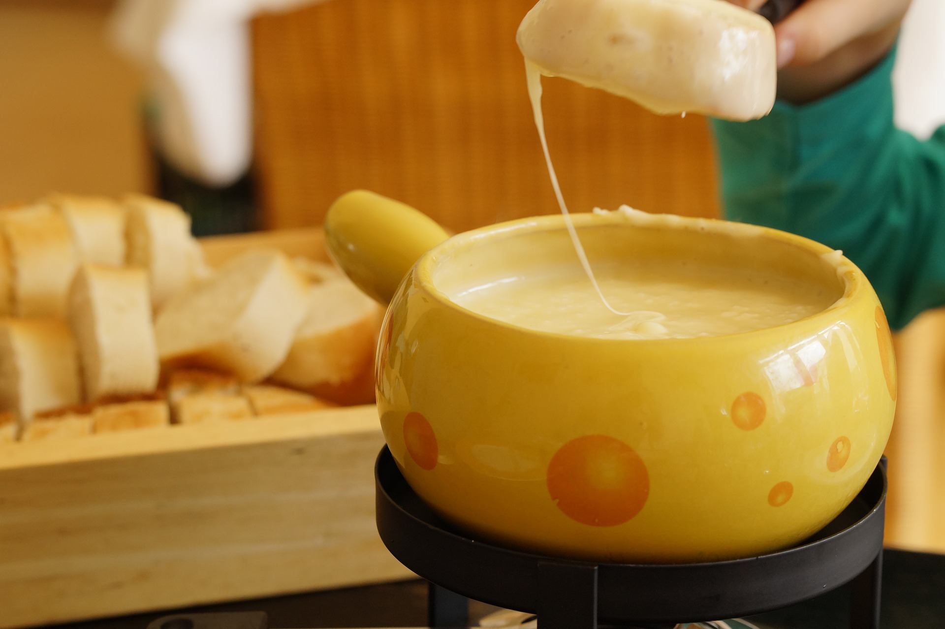 not all cheese are vegetarian fondue